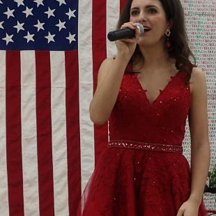 Gabrielle Gore Singing