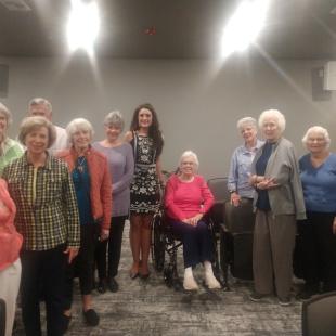 Friends at Grand Village Retirement Center